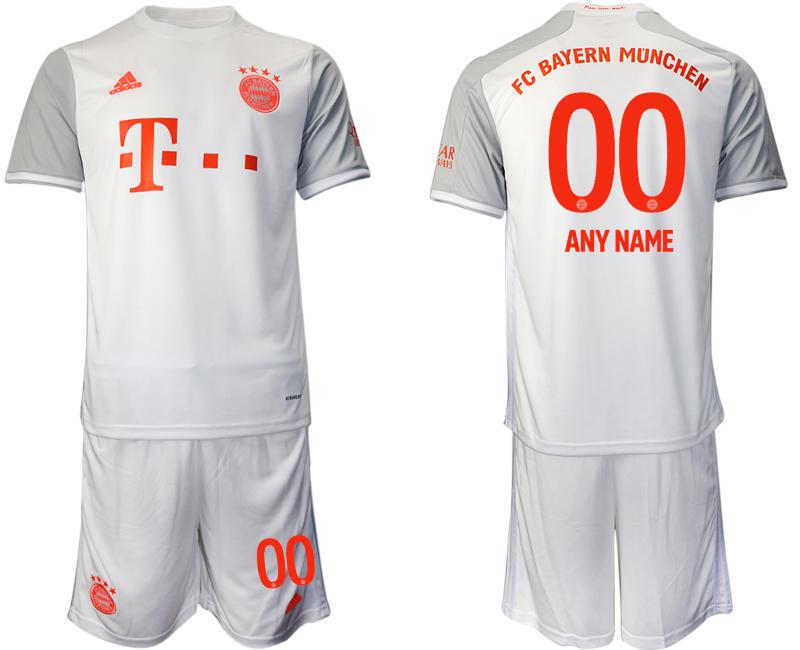 2020-21 Bayern Munich Customized Away Soccer Jersey