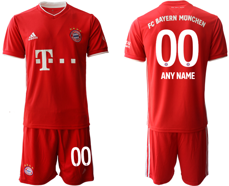 2020-21 Bayern Munich Customized Home Soccer Jersey