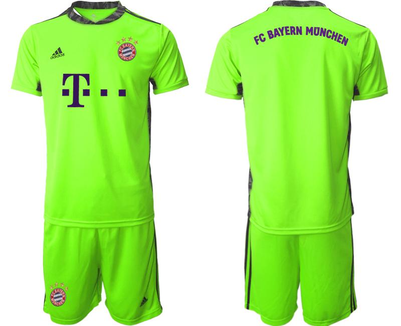 2020-21 Bayern Munich Fluorescent Green Soccer Jersey