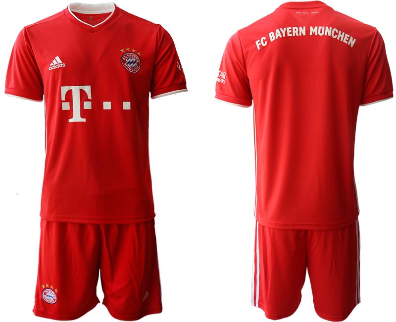 2020-21 Bayern Munich Home Soccer Jersey