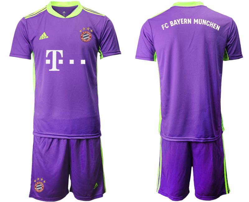 2020-21 Bayern Munich Purple Soccer Jersey