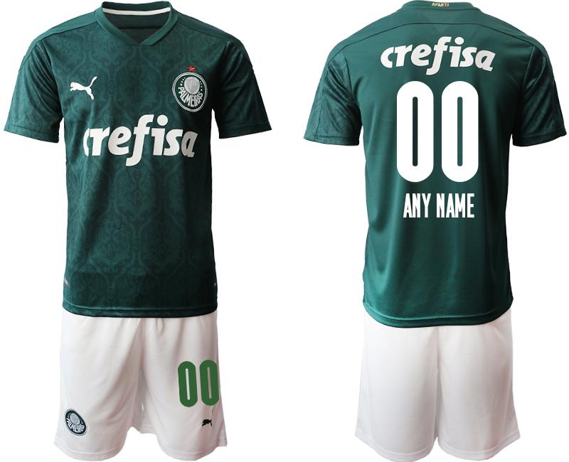 2020-21 Palmeiras Customized Home Soccer Jersey
