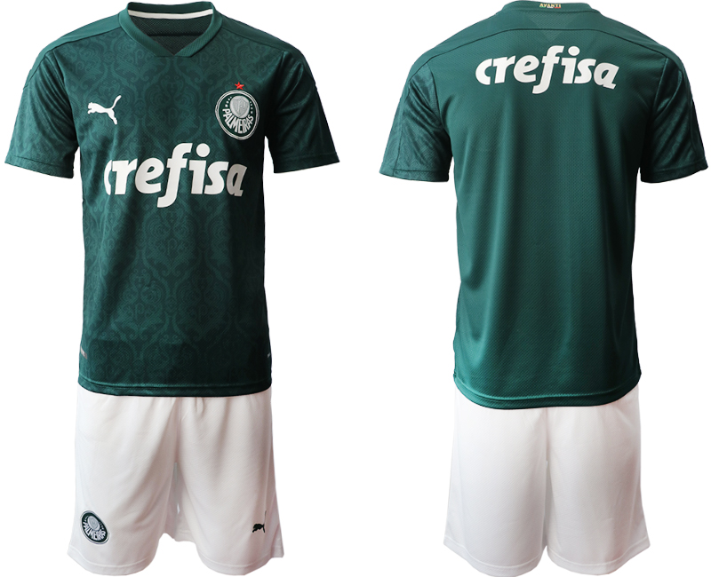 2020-21 Palmeiras Home Soccer Jersey