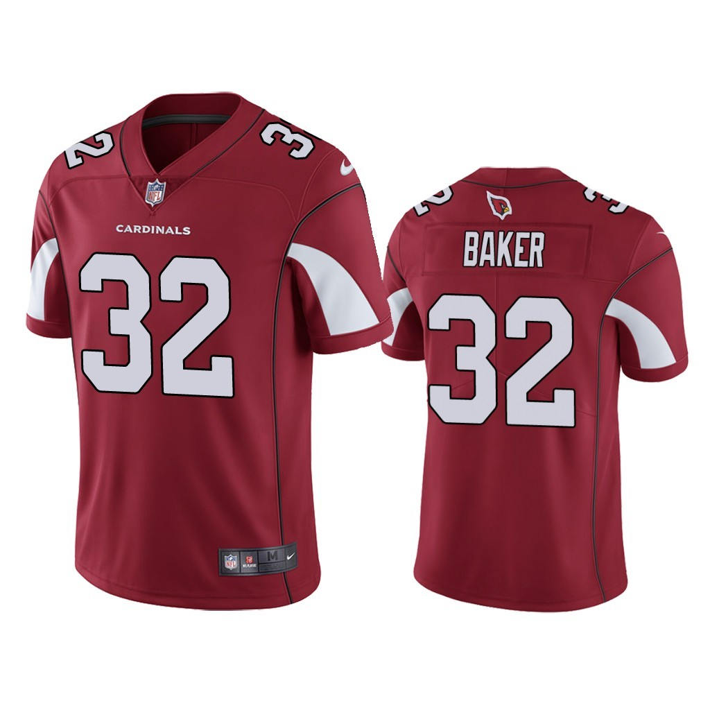 Nike Cardinals 32 Budda Baker Red Vapor Untouchable Limited Jersey