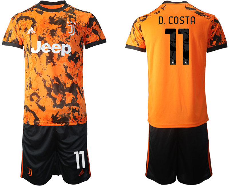 2020-21 Juventus 11 D. COSTA Third Away Soccer Jersey