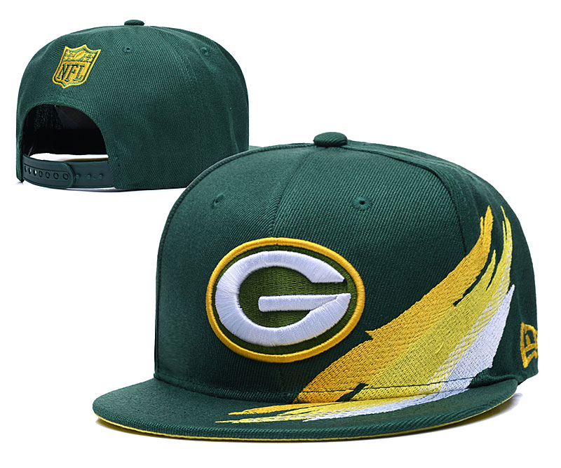 Packers Team Logo Green Adjustable Hat YD
