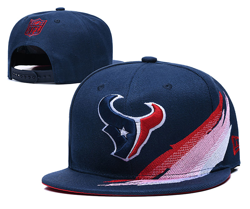 Texans Team Logo Navy Adjustable Hat YD