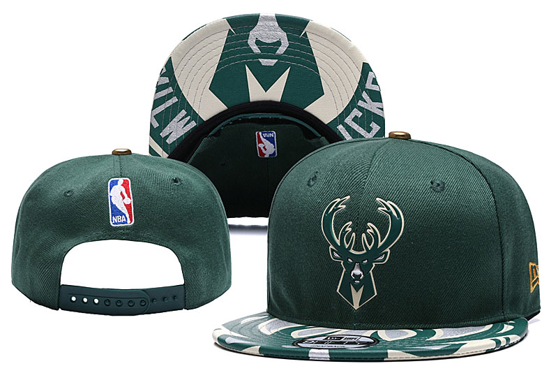 Bucks Team Logo Green Adjustable Hat YD