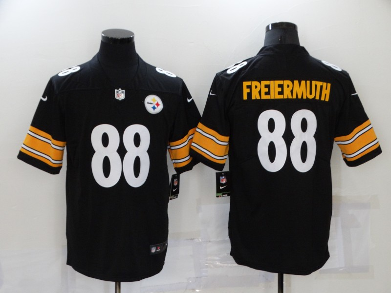 Nike Steelers 88 Pat Freiermuth Black Vapor Untouchable Limited Jersey