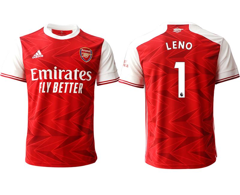 2020-21 Arsenal 1 LENO Home Thailand Soccer Jersey