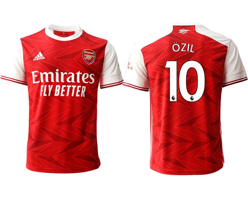 2020-21 Arsenal 10 OZIL Home Thailand Soccer Jersey