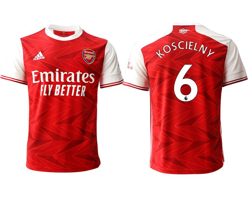 2020-21 Arsenal 6 KOSCIELNY Home Thailand Soccer Jersey