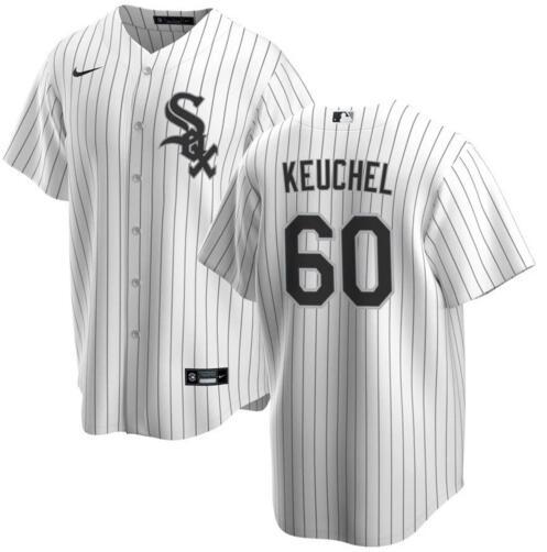 White Sox 60 Dallas Keuchel White Cool Base Jersey