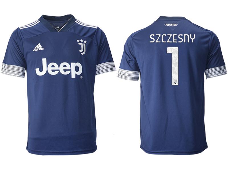 2020-21 Juventus 1 SZCZESNY Away Thailand Soccer Jersey