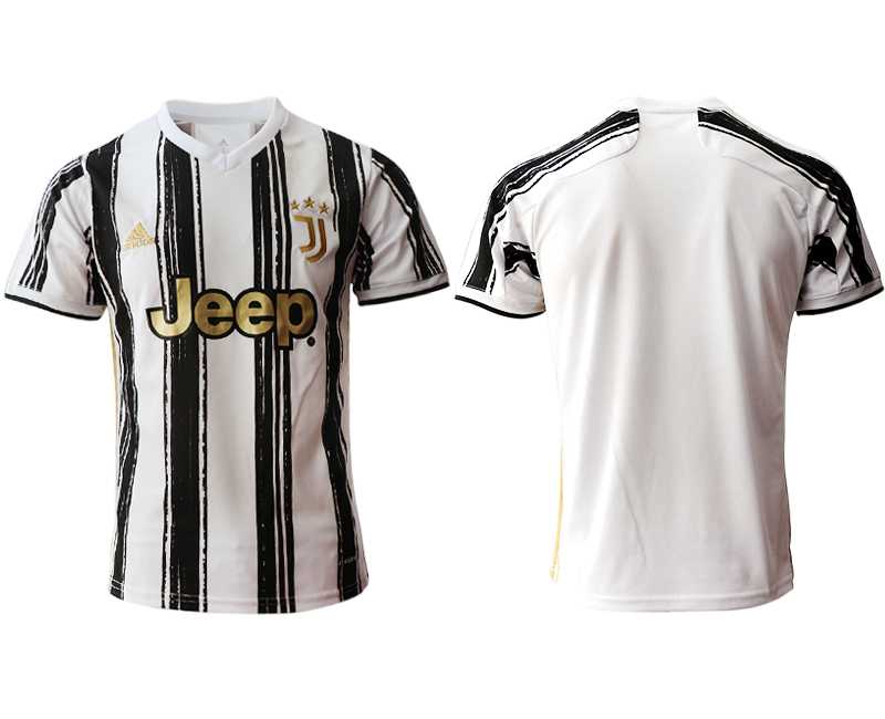 2020-21 Juventus Home Thailand Soccer Jersey
