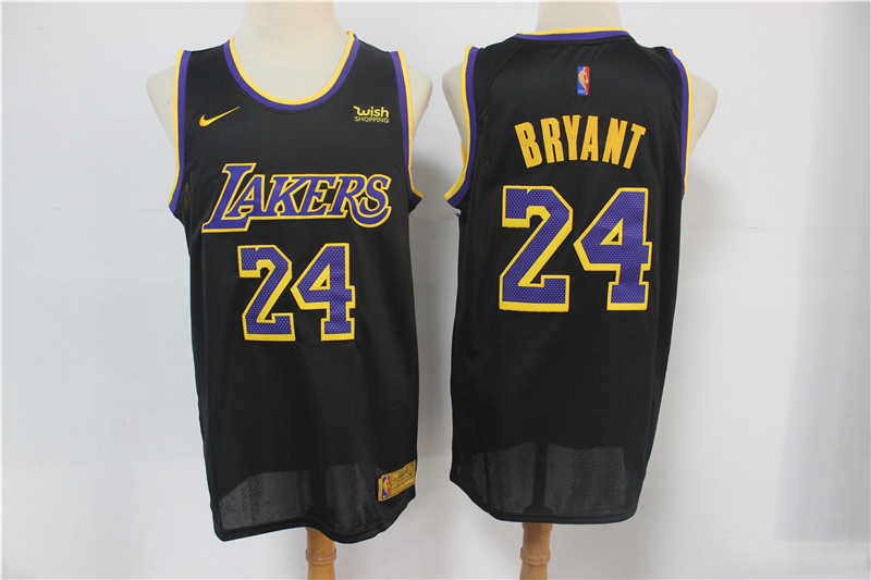Lakers 24 Kobe Bryant Black 2021 Earned Edition Nike Swingman Jersey