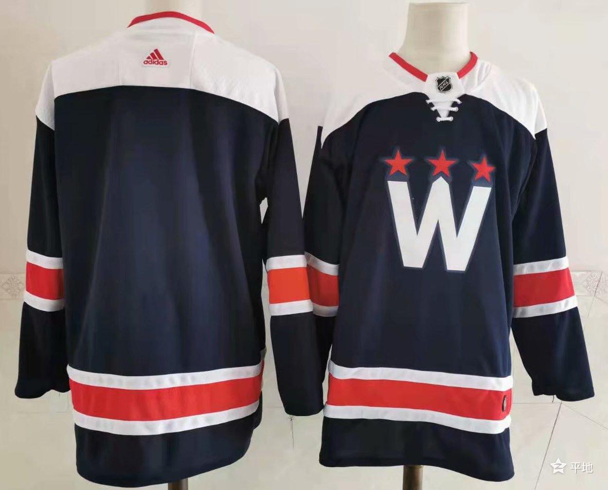 Capitals Blank Navy 2020-21 Adidas Jersey