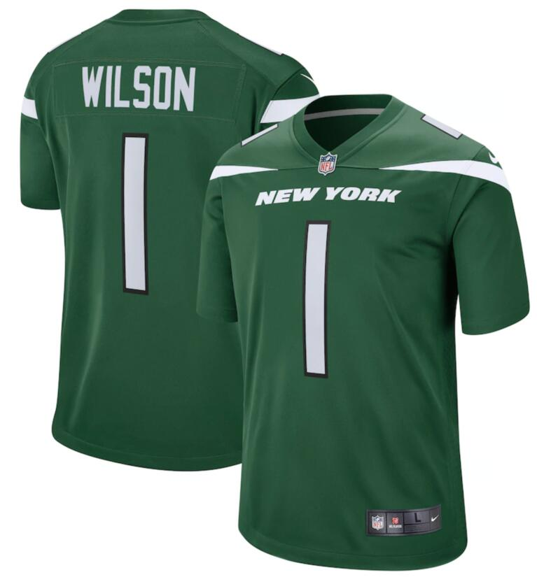 Nike Jets 1 Zach Wilson Green 2021 NFL Draft Vapor Untouchable Limited Jersey