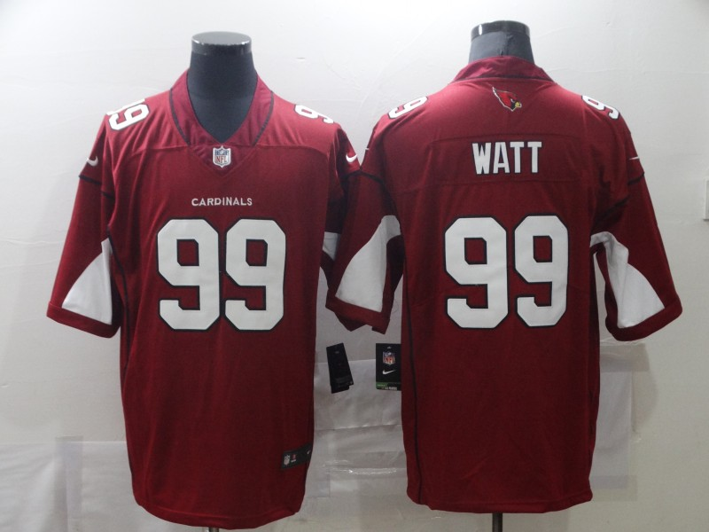 Nike Cardinals 99 J.J. Watt Red Vapor Untouchable Limited Jersey