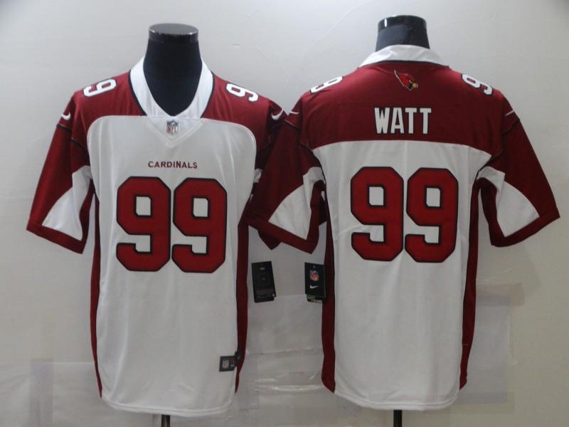Nike Cardinals 99 J.J. Watt White Vapor Untouchable Limited Jersey