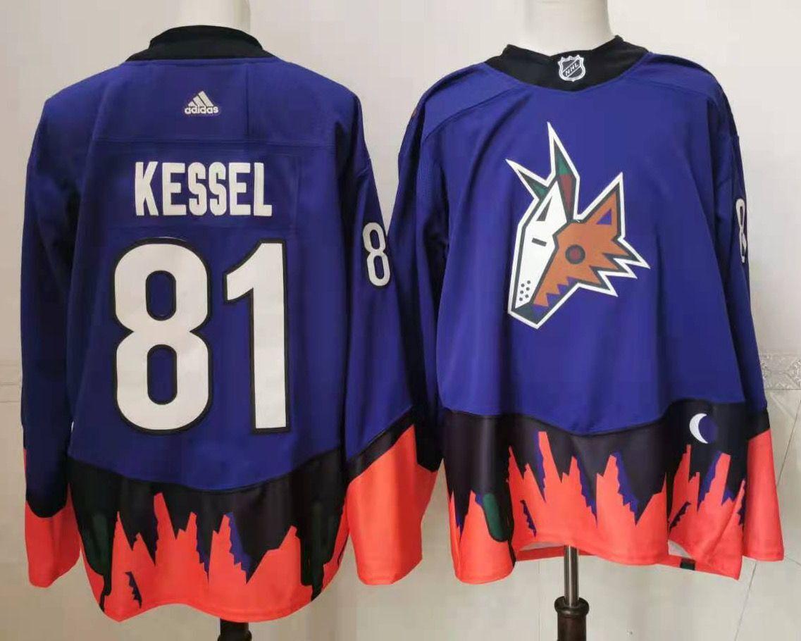 Coyotes 81 Phil Kessel Purple 2020 21 Reverse Retro Adidas Jersey