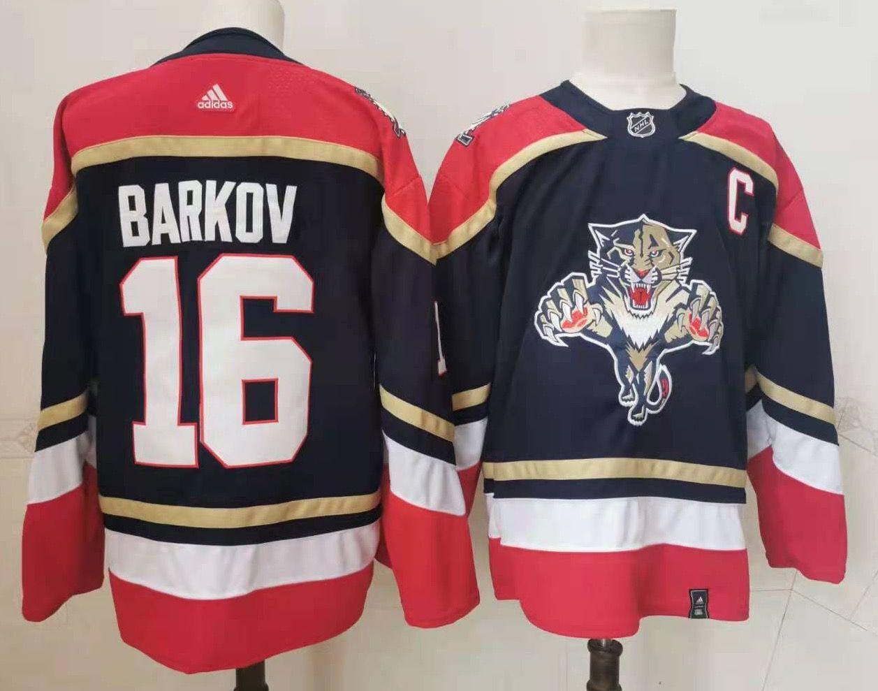 Panthers 16 Aleksander Barkov Black 2020-21 Reverse Retro Adidas Jersey