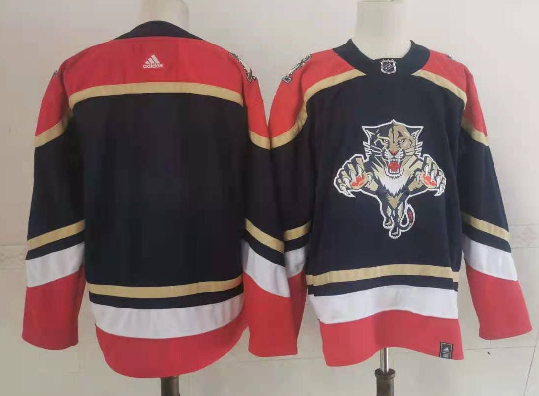 Panthers Blank Black 2020-21 Reverse Retro Adidas Jersey