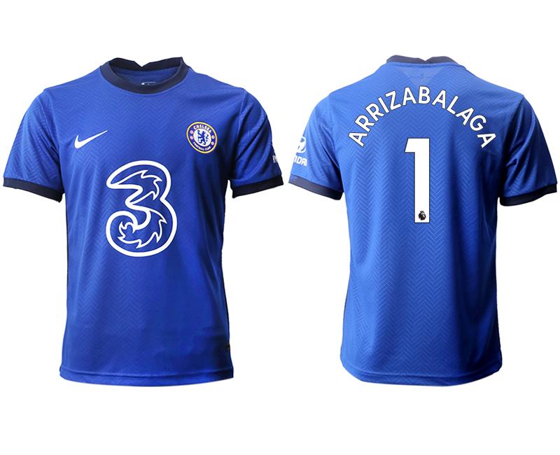 2020-21 Chelsea 1 ARRIZABALAGA Home Thailand Soccer Jersey