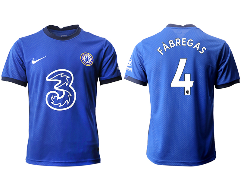 2020-21 Chelsea 4 FABREGAS Home Thailand Soccer Jersey
