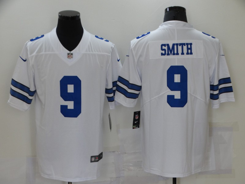 Nike Cowboys 9 Jaylon Smith White Vapor Untouchable Limited Jersey