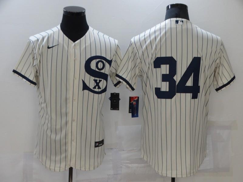 White Sox 34 Michael Kopech Cream Nike 2021 Field Of Dreams Flexbase Jersey
