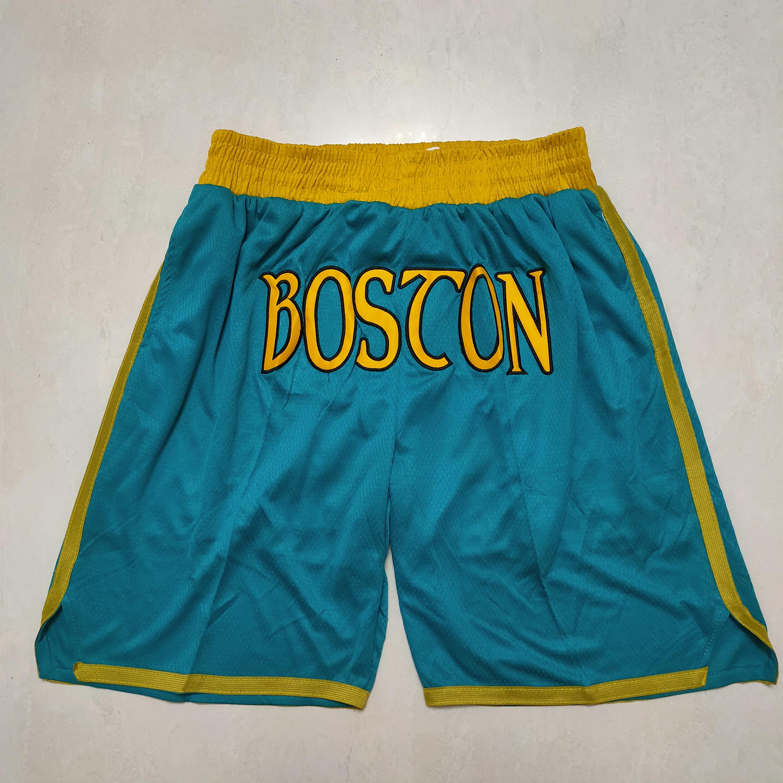 Celtics Teams Green Earned Edition With Pocket Swingman Shorts