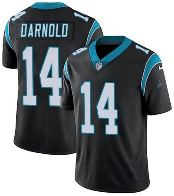 Nike Panthers 14 Sam Darnold Black Vapor Untouchable Limited Jersey
