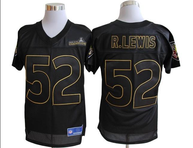 Baltimore Ravens Pro Line 52 Ray Lewis Super Bowl XLVII Champions Jerseys