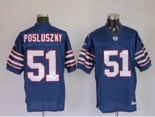 Bills 51 Paul Posluszny Light Blue Jerseys