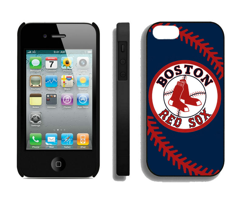 Boston Red Sox-iPhone-4-4S-Case