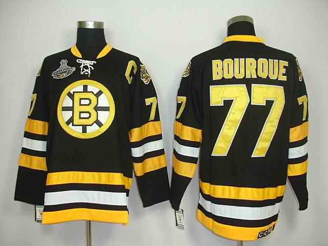 Bruin 77 Bburque Black Champions Jerseys