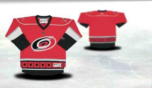 Carolina Hurricanes Youth Customized Red Jersey