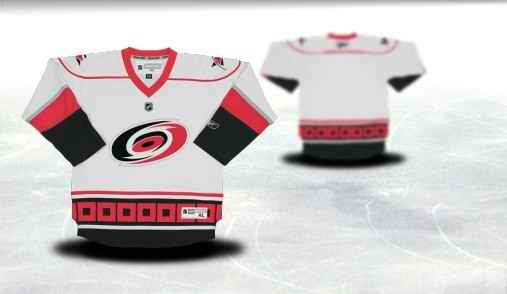 Carolina Hurricanes Youth Customized White Jersey