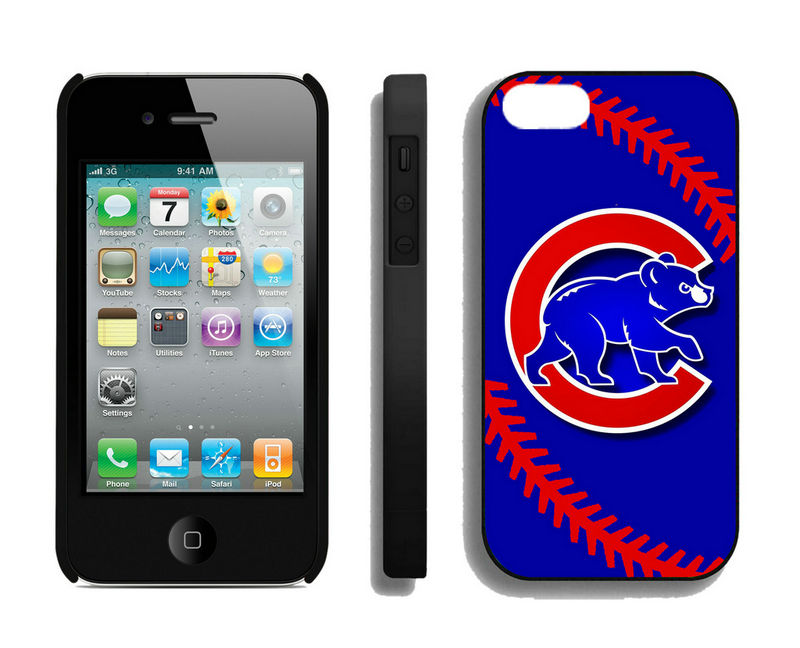 Chicago Cubs-iPhone-4-4S-Case
