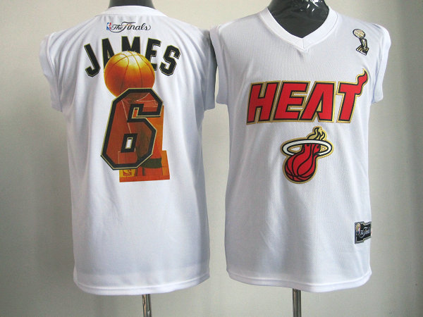 Heat 6 James White Champion Edition Jerseys