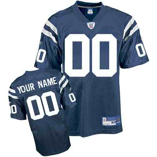 Indianapolis Colts Youth Customized blue Jersey