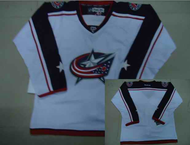 Jackets Blank White Jerseys