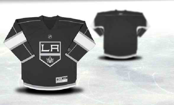 Los Angeles Kings Youth Customized Black Third Jersey
