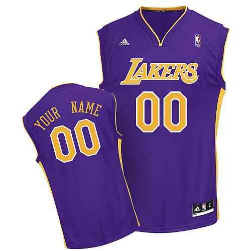 Los Angeles Lakers Youth Custom purple Jersey