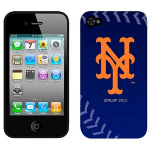 MLB New York Mets Blue Colors Iphone 4-4s Case