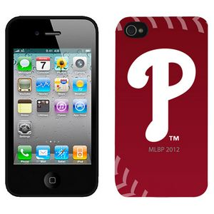 MLB Philadelphia Philltes Red Colors Iphone 4-4s Case