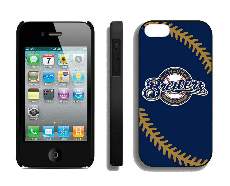 Milwaukee Brewers-iPhone-4-4S-Case