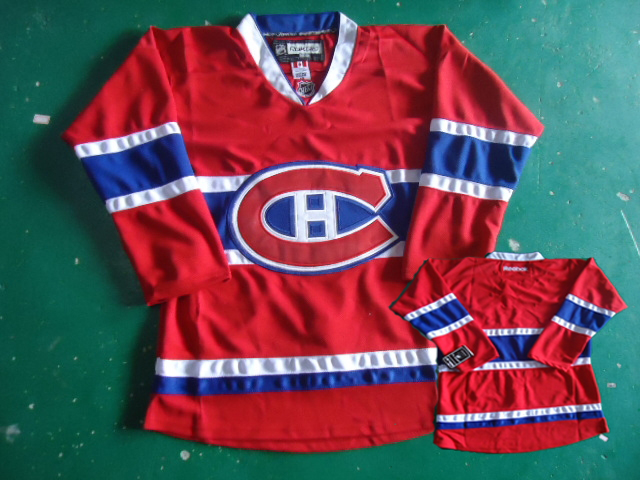 Montreal Canadiens blank red Jerseys