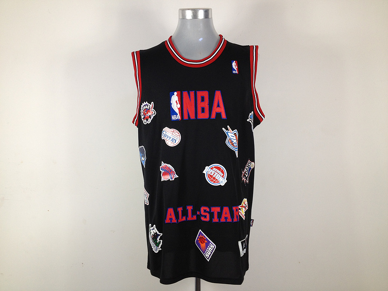 NBA All Star Black Jerseys